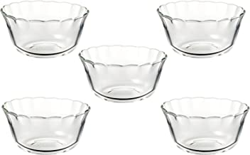 iwaki 耐熱ベーシック カップ 5個組 耐熱ガラス 180ml カスタードカップ レンジ・オーブン可 SKT463N-5