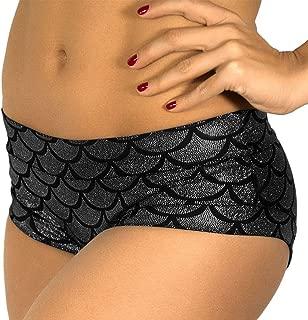 Mermaid Shorts Women's Fish Scale Shorts