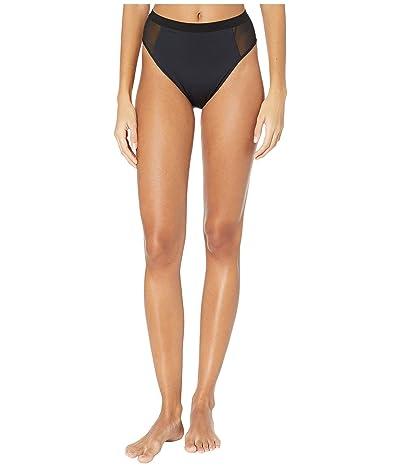 Stella McCartney Sporty Mesh High-Waist Bikini (Black) Women