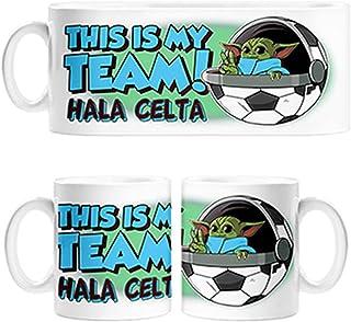 Diver Tazas Taza Parodia Baby Yoda mi Equipo de fútbol HALA Celta - Cerámica