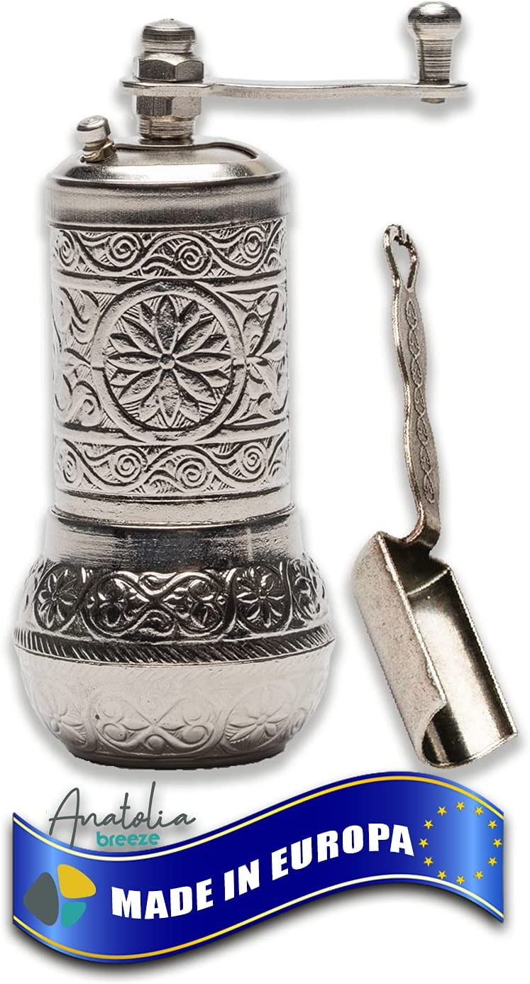 Anatolia Breeze Salt and Oakland Mall Pepper Refillable Black Peppe 4 years warranty Grinders