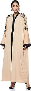 Nukhbaa Women's Abaya, Beige