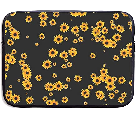 Vintage Sunflowers Pattern Laptop Sleeve Case 15 15.6 Inch Briefcase Cover Protective Notebook Laptop Bag