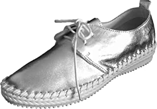 [DRES and more] 牛革 シルバー SHOES