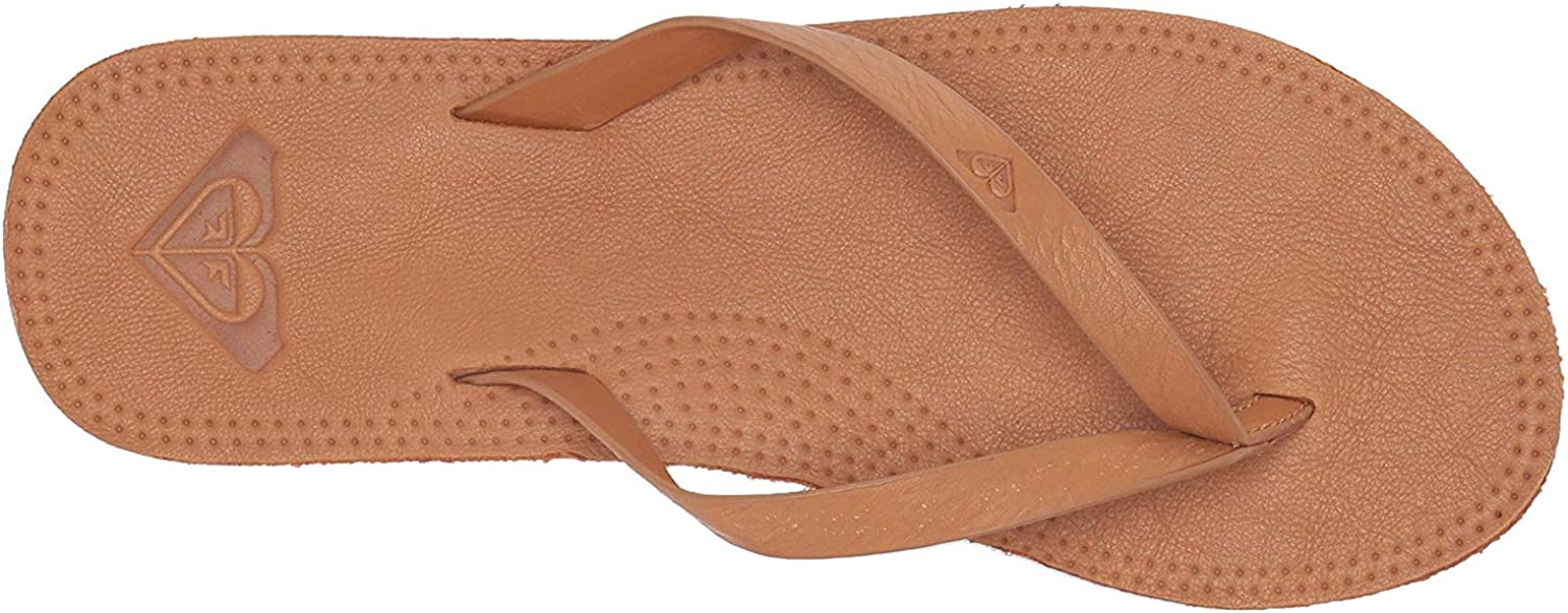 Roxy Women's Brinn Leather Ranking TOP3 OFFicial site Sandal