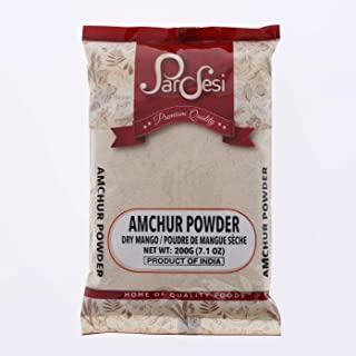 Pardesi Amchur Powder 7.1oz 200gm I Dry Mango Powder Ground I All-Natural Authentic Indian Spice I Vegan I Best for Marinades I Chutneys and more