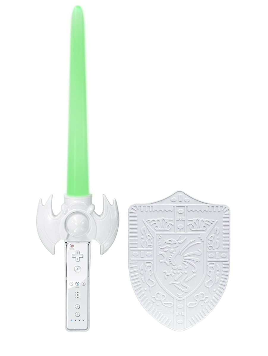 Wii Green Light Blade with Shield
