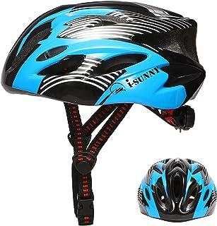 i-sunny 子供用ヘルメット 自転車 チャイルドメット スケートボードヘルメット 軽量 170g サイズ調整可能 頭囲48cm-55cm 18通気穴 通気性よい 超高耐衝撃性 取り出し可能 洗濯可能 SGS&CMA認証済み キッズヘルメット