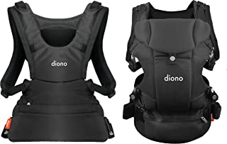 Diono Carus Essentials 3-in-1 Carrying System from Birth up to 3 Years, Dark Gray