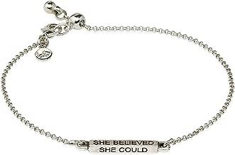 Luca + Danni She Believed Slider Bracelet for Women Made in USA