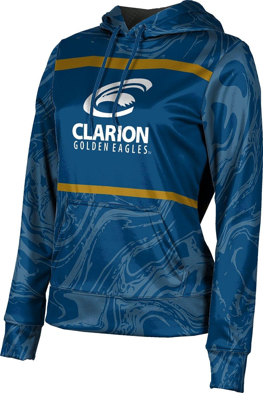 ProSphere Clarion University Girls' Pullover Hoodie, School Spirit Sweatshirt (Ripple)