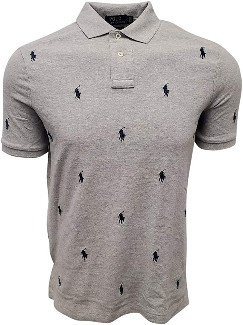 Ranking sold out TOP6 Ralph Lauren Polo Men's Pony Scattered Logo Shirt