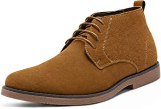 Bruno Marc Men`s Classic Original Suede Leather Desert Storm Chukka Boots