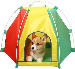 NIBESSER Katttält vikbart bärbart katttält oxford kattsäng tipi katthus hundtält vattentätt sällskapsdjur tält inomhus uto...