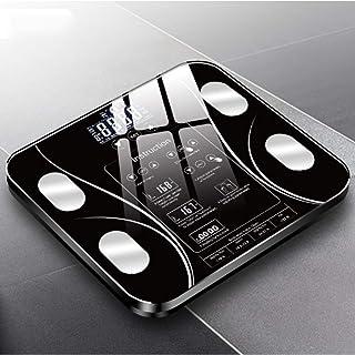 HUANGDANSEN Báscula de baño Báscula de baño con Carga USB Smart Home Báscula electrónica Báscula de Grasa