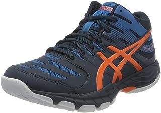 ASICS Men's Gel-Beyond MT Volleyball Shoe, French Blue Marigold Orange, 8.5 UK