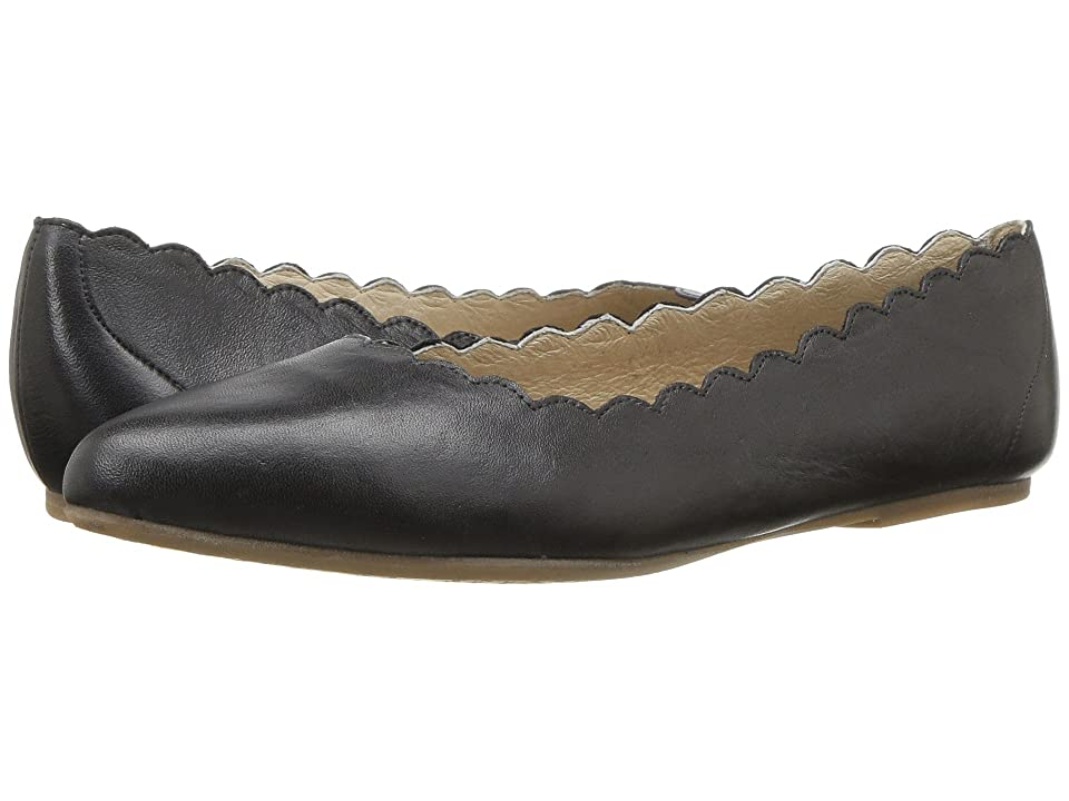 2c8ea695274d Miz Mooz Bailey (Black) Women s Flat Shoes