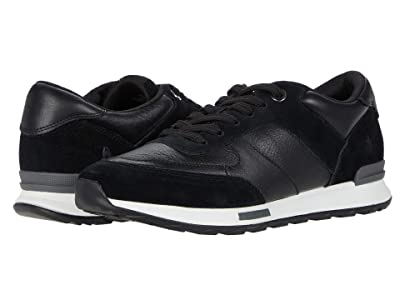 Hush Puppies Jenna Jogger (Black Leather/Suede) Women
