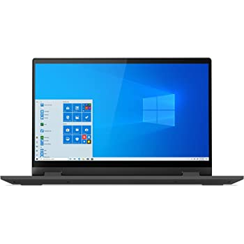 "Lenovo IdeaPad Flex 5 14"" Convertible Laptop, FHD (1920 x 1080) Touch Display, Intel Core i5-1035G1 Processor, 8GB DDR4 Onboard RAM, 128GB SSD, Intel UHD Graphics, Win 10, 81X1004RUS, Graphite Grey"