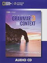 Grammar in Context 3: Audio CD (Grammar in Context, Sixth Edition)