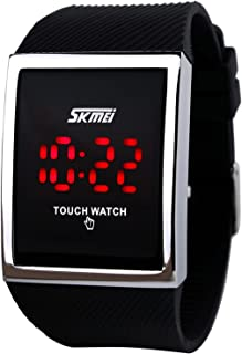 Touch Screen Outdoor Sports Watch with LED, Digital for Boys Girls,10+ Years Old