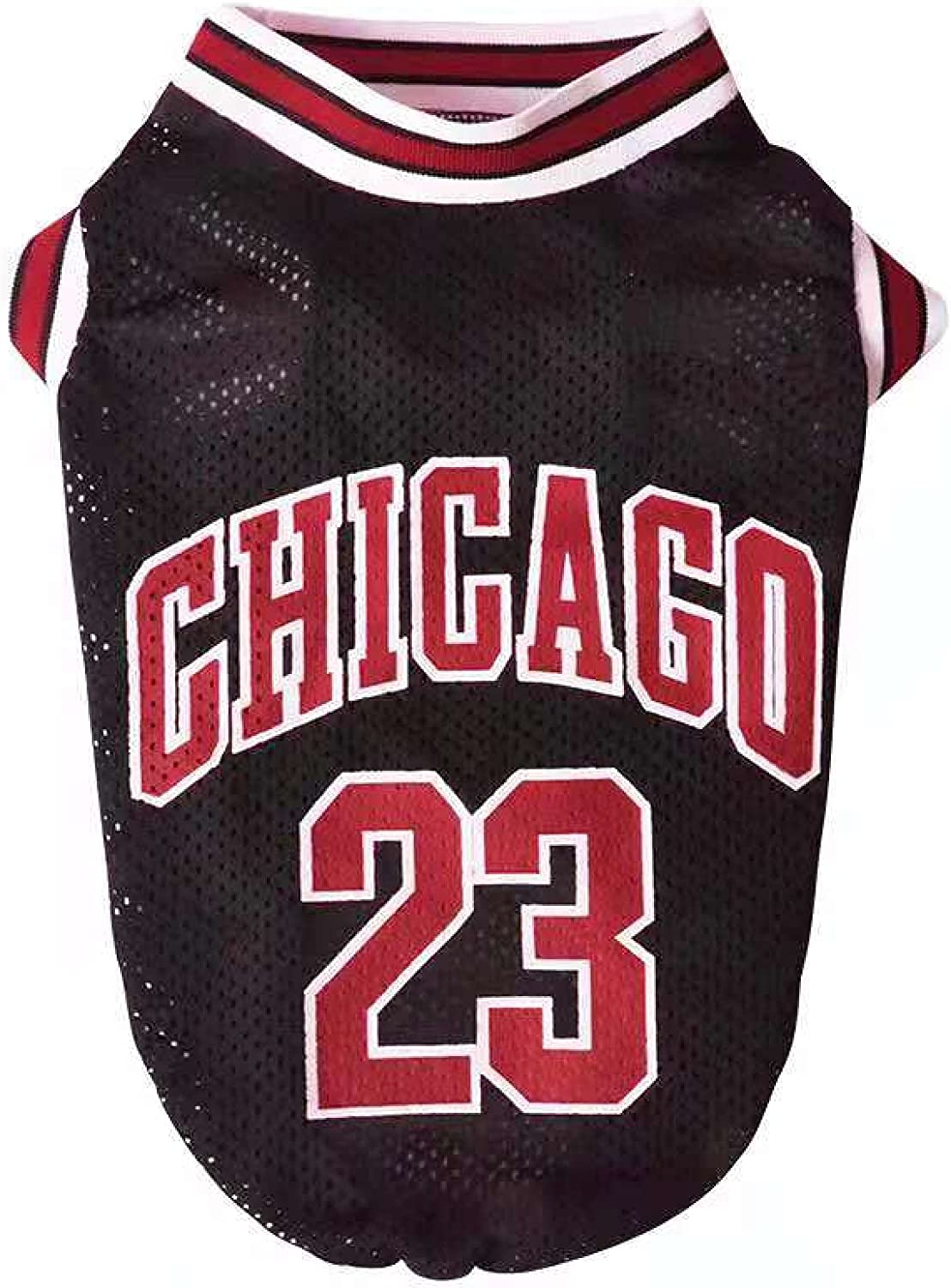 Great interest Dog Vest Basketball Jersey Cool Pet Puppy Clothes Cat Breathable Overseas parallel import regular item