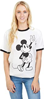 Mickey Mouse Peace Camiseta para Mujer