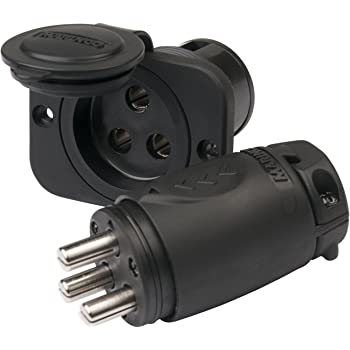 Marinco 12VCPS3 Trolling Motor Plug/Receptacle