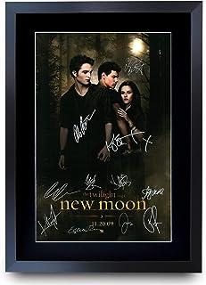 HWC Trading The Twilight Saga: New Moon The Cast Kristen Stewart Robert Pattinson gåvor tryckt affisch signerad autograf b...