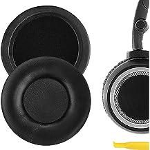 Geekria QuickFit Protein Leather Ear Pads for ÂKG Q460, K480, K451, K450, K430, K420 Headphones Replacement Earpads/Ear Cu...