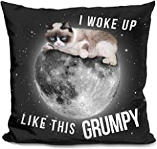 LiLiPi I Woke Up Like This Grumpy Decorative Accent Throw Pillow