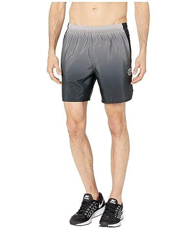 Nike Challenger Shorts 7 PR (Gunsmoke/Black/Reflective Silver) Men