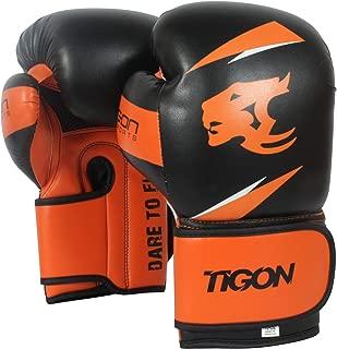 Tigon Boxing Gloves Punch Bag Punching Boxing Gloves Black