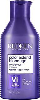 Redken Color Extend Blondage Balsamo, Conditioner Professionale | Capelli Biondi | Con pigmenti viola fornisce una funzion...