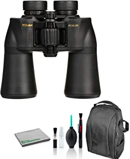 Nikon 10x50 Aculon A211 Binocular 8248 Bundle with Cleaning Kit + Deluxe Padded Backpack