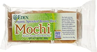 EDEN FOODS Organic Sprouted Brown Rice Mochi, 10.5 OZ