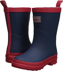 Hatley Kids Navy and Red Rain Boots (Toddler/Little Kid)