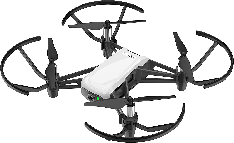 Ryze Tech Tello - Mini Drone Quadcopter UAV for Kids Beginners 5MP Camera HD720 Video 13min Flight Time Education Scratch...