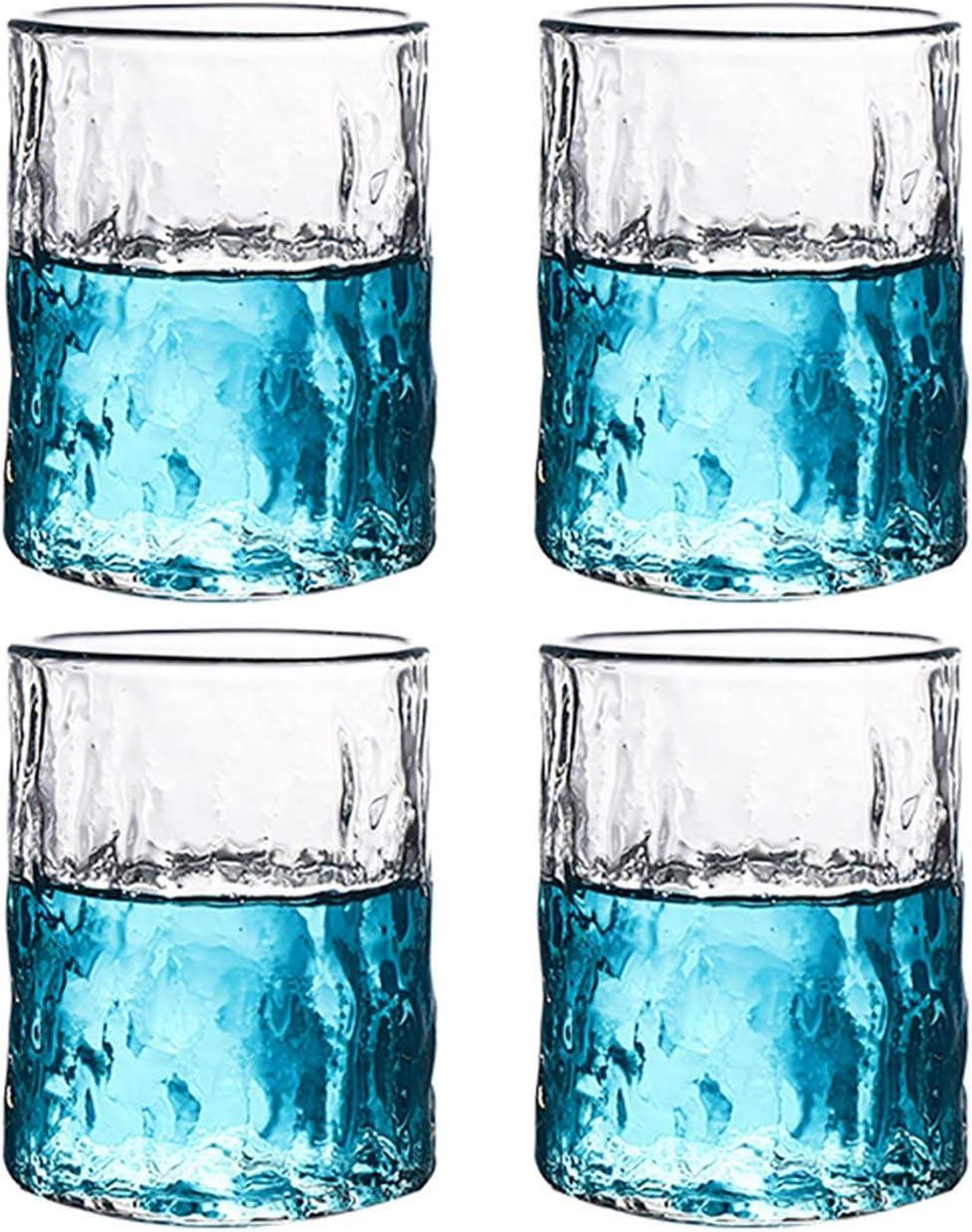 Drinking Glasses Jacksonville Mall Sale price 4PCS Glass Set Glas Tumblers Glassware