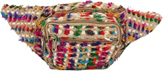 multi colored fanny pack