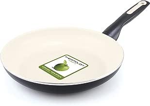 GreenPan Rio 10 Inch Ceramic Non-Stick Fry Pan, Black - CW0005082