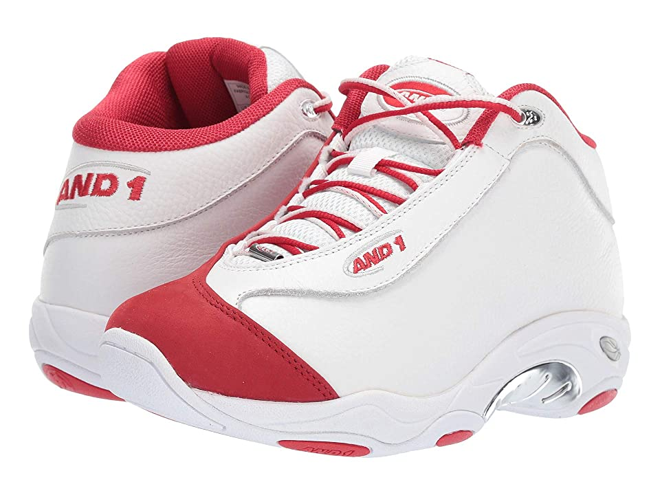 AND1 Tai Chi LX (White/Chinese Red/Silver) Men
