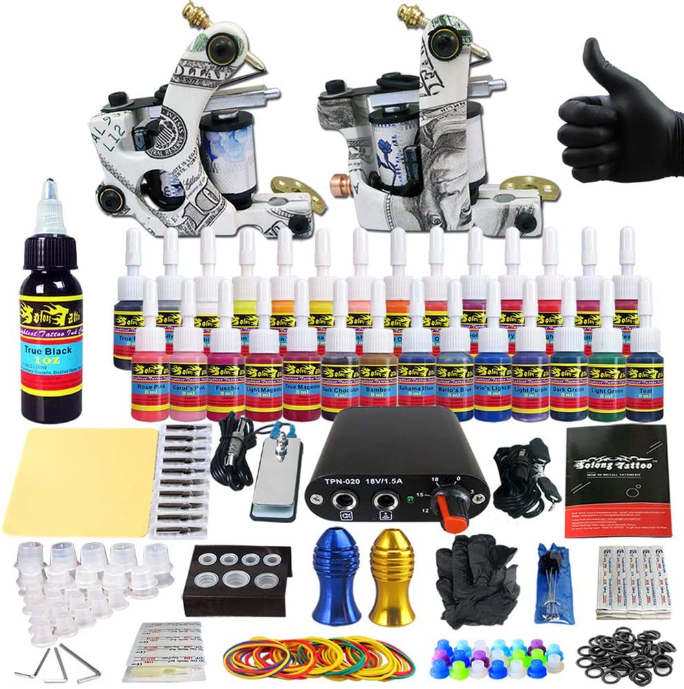 Rotary Tattoo Machine Sales Limited Special Price of SALE items from new works Kit Supply Power for Beginners