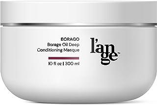 L?ange Hair BORAGO Oil Hair Mask - Keratin Repair Treatment - Organic Deep Conditioning Masque - Moisturizing & Hydrating ...