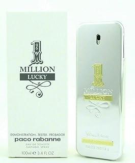Paco Rabanne One Million Lucky for Men Eau de Toilette Spray, 3.4 Ounce (TESTER) 3.4 oz