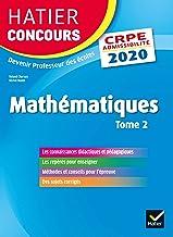 Livres Mathématiques Tome 2 - CRPE 2020 - Epreuve écrite d'admissibilité PDF