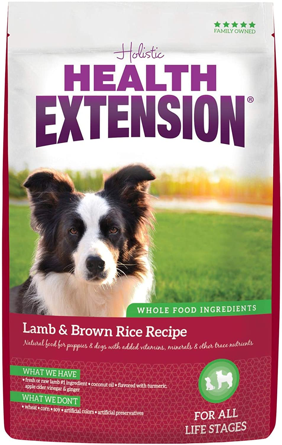 Health Extension Lamb And Brown Rice 15lb