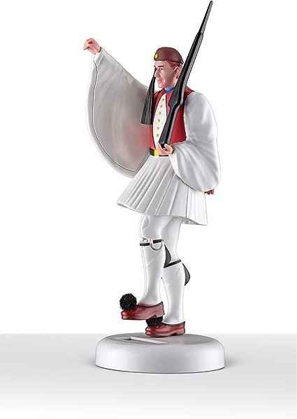 TSOLIAS Club Evzonas Figurine Red