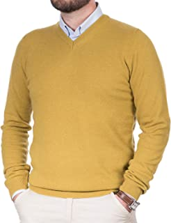 quality design 9adb5 ffd35 Amazon.it: Pullover Uomo Cashmere - Maglioni, Cardigan ...