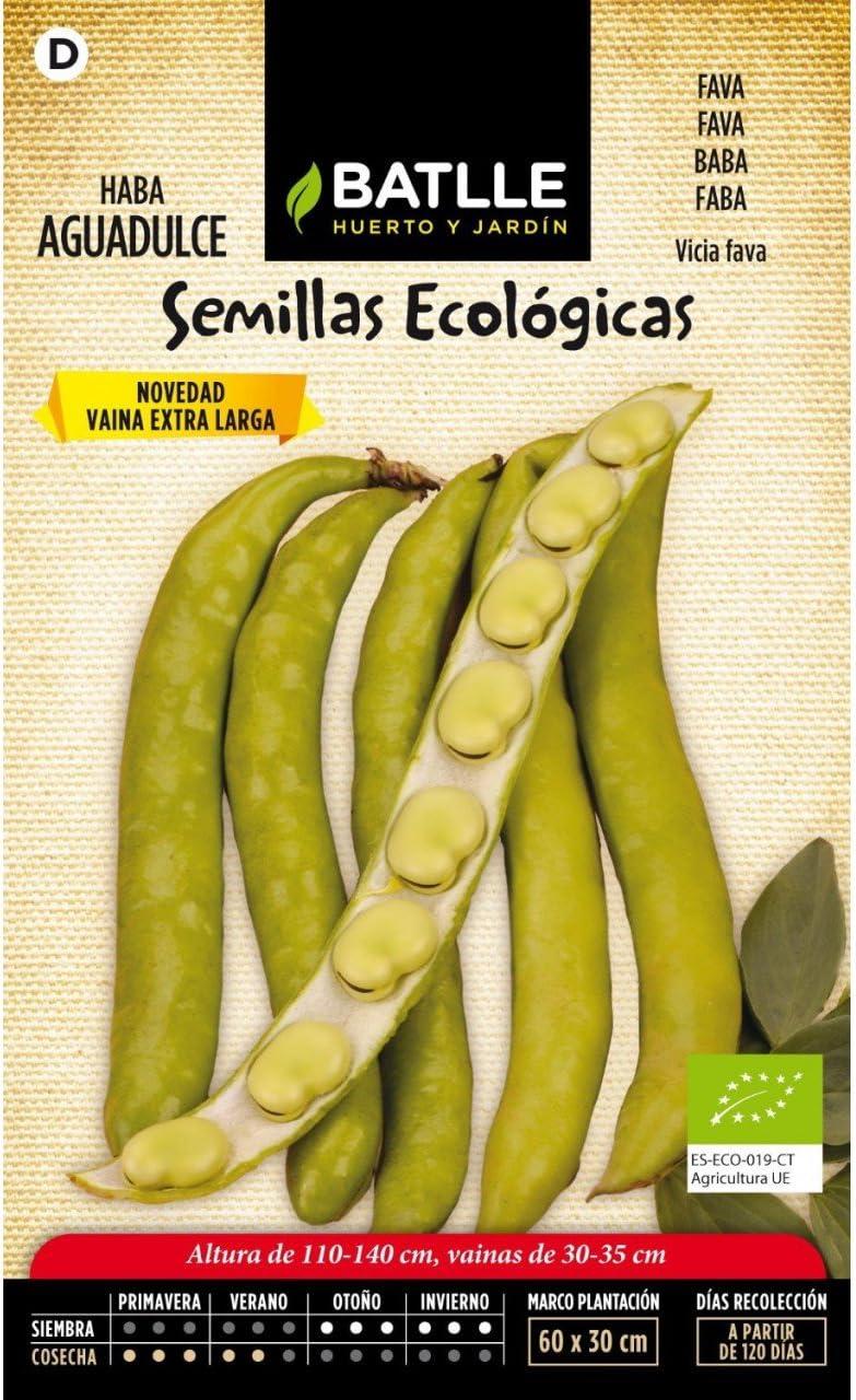 Semillas Ecológicas Leguminosas - Haba Aguadulce - ECO - Batlle